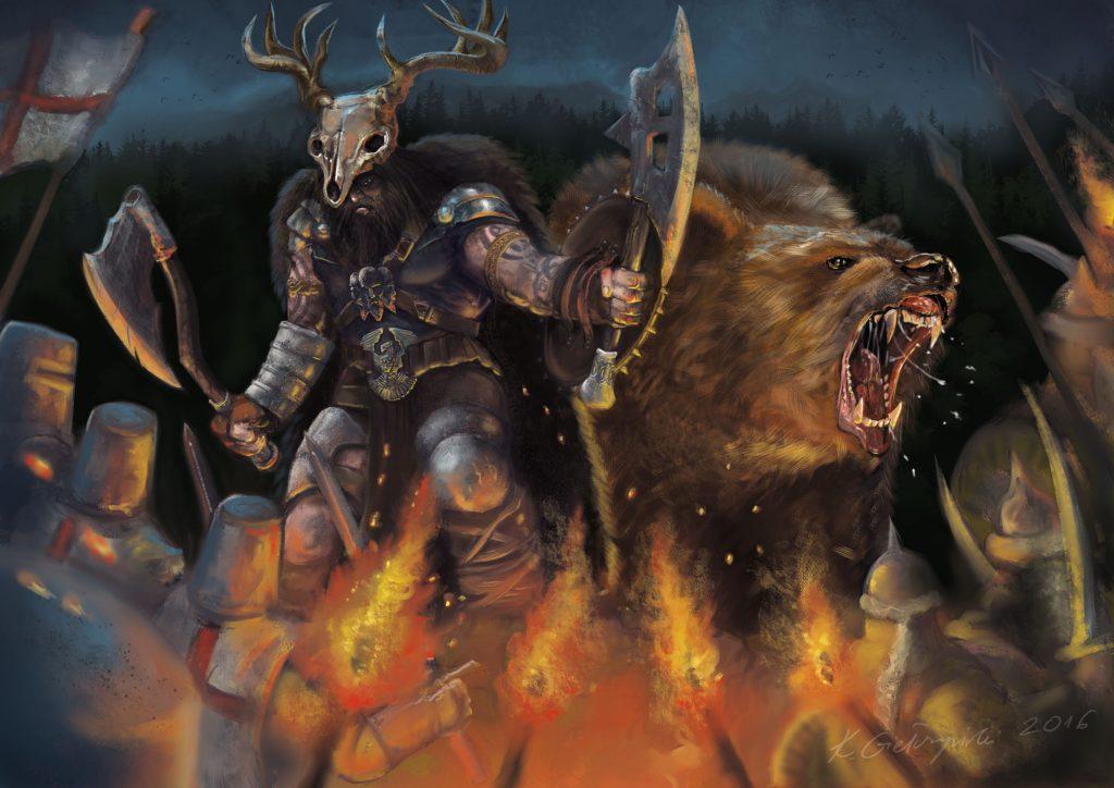 Last pagan warrior