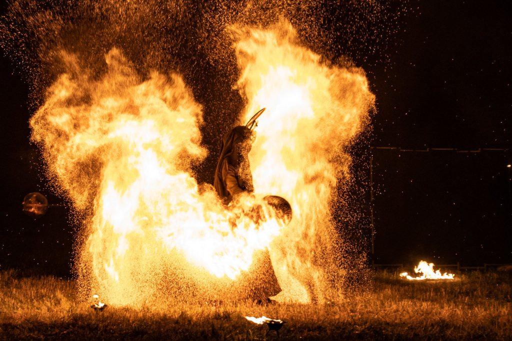 ohňová šou